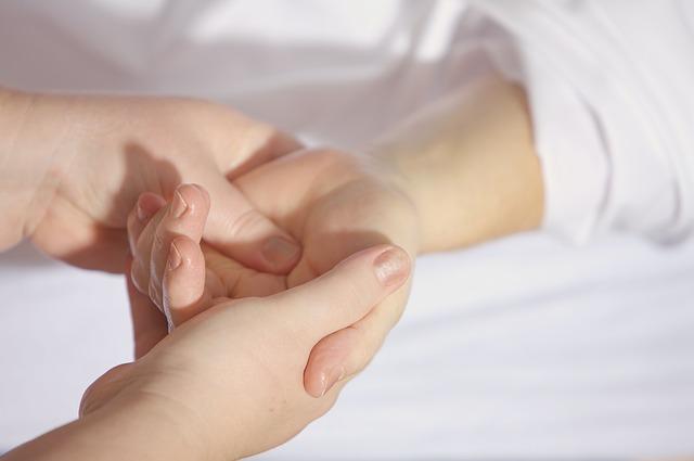 léčba ruky